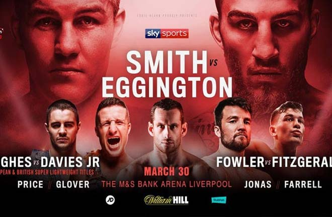 Smith v Eggington - Undercard Previews & Predictions. Credit: Matchroom Boxing