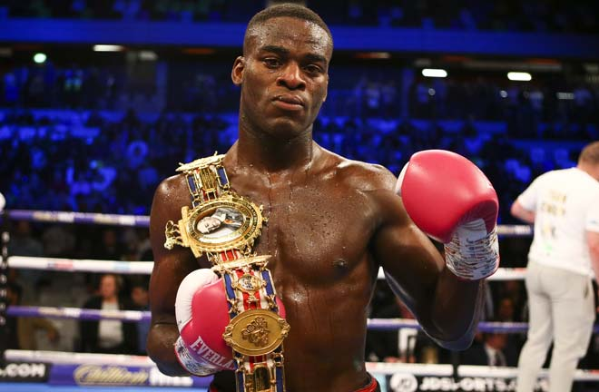 Buatsi became British champion in 2019 Credit: Matchroom Boxing