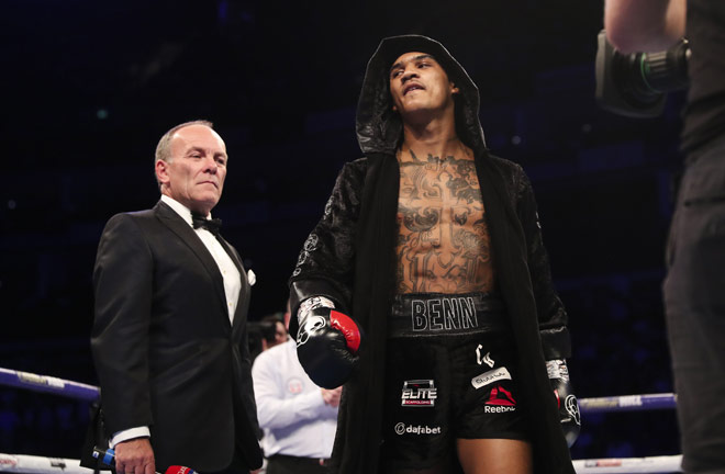 Conor Benn makes his return to the ring on April 20. Credit: Matchroom Boxing