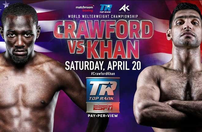 Crawford vs. Khan – Big Fight Preview & Prediction. Credit: Boxing News
