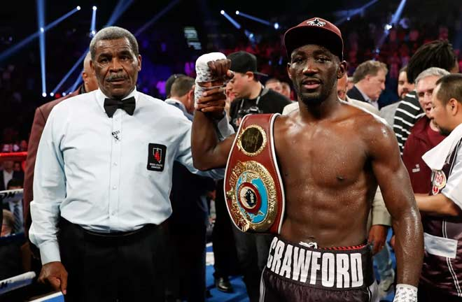 Crawford looks to prove why he's one of the best P4P in the world. Credit: Bad Left Hook