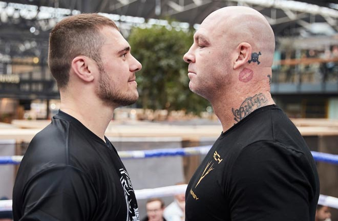 Allen: There's zero chance of Lucas Browne knocking me out. Credit: Matchroom Boxing