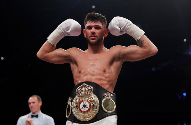 Cordina: British title pushes me towards bigger things. Credit: Matchroom Boxing
