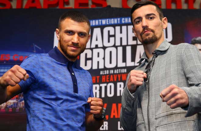 Lomachenko vs. Crolla - Big Fight Preview and Prediction. Credit: CBS Sports
