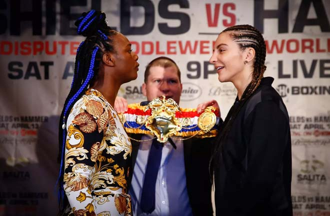 Shields-Hammer go head to head this Saturday night. Credit: Bad Left Hook