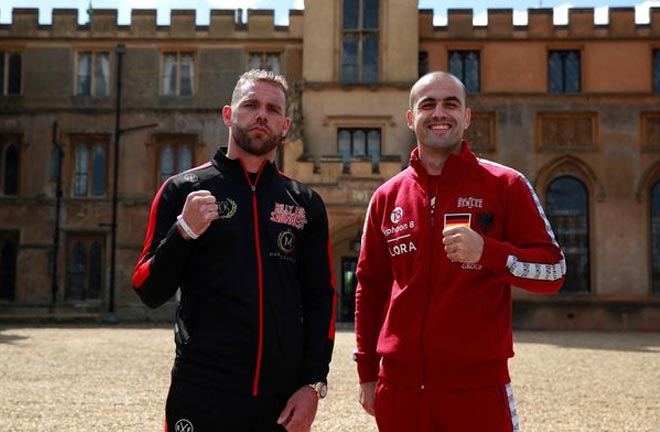 Saunders aims to become a two weight World Champion. Credit: Irish Mirror