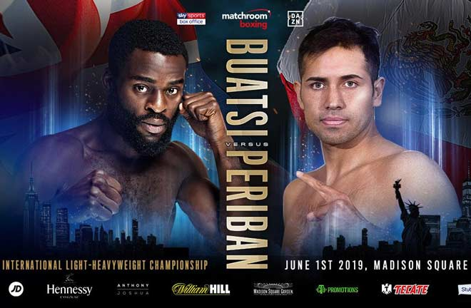 Joshua Buatsi will fight in America for the first time as a professional. Credit: Matchroom Boxing