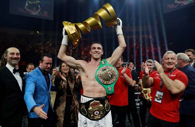 WBA 'super' titlist Callum Smith could be a possible future opponent Credit: Mirror