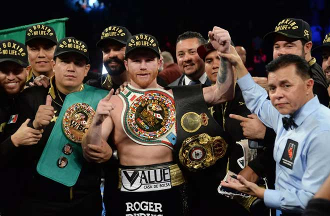 Canelo: I want to place myself in history. Credit: Bloody Elbow