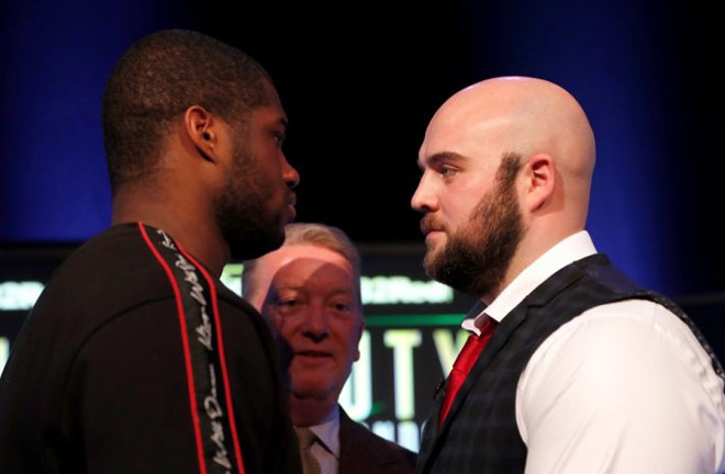Daniel Dubois and Nathan Gorman take top billing at The O2. Credit: Frank Warren