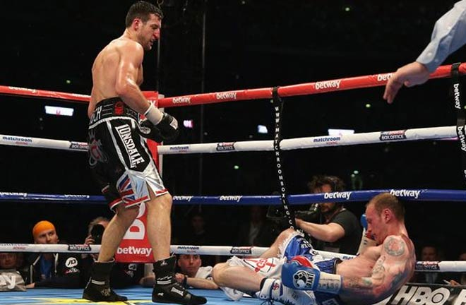 Froch is open fighting Groves again. Credit: mirror.co.uk