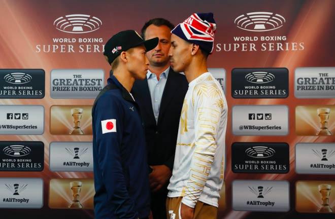 Inoue-Rodriquez face off. Credit: BoxingScene
