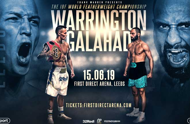 Warrington wants ring belt next. Credit: Frank Warren