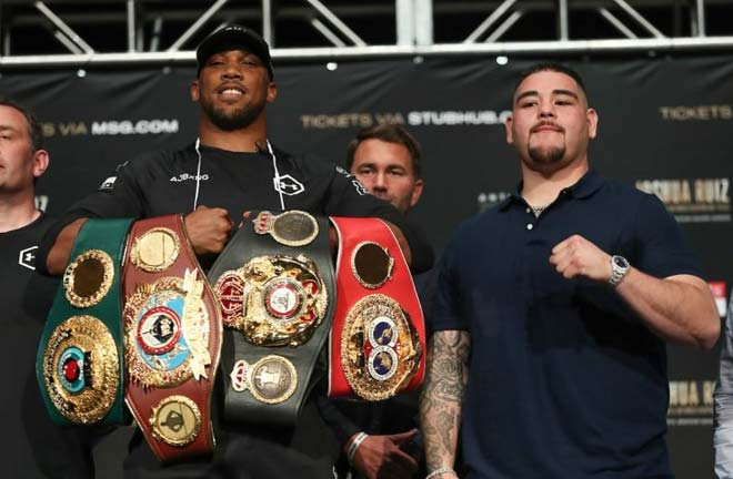 Joshua-Ruiz go head to head this weekend at MSG, New York. Credit: The Ring