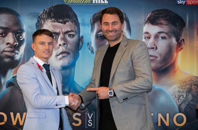 Smith: I want to become a Sheffield great. Credit: Matchroom Boxing