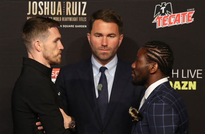 Joshua vs Ruiz undercard press conference quotes. Credit: Matchroom Boxing