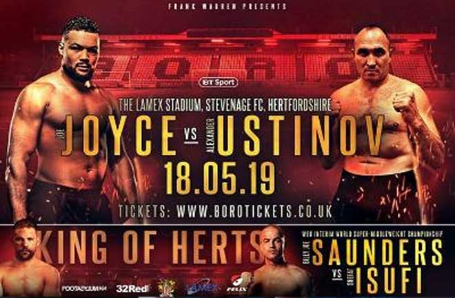 Saunders v Isufi - Undercard Preview & Predictions. Credit: Frank Warren