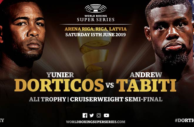 Dorticos' dream: To knock Tabiti out of the ring. Credit: WBSS