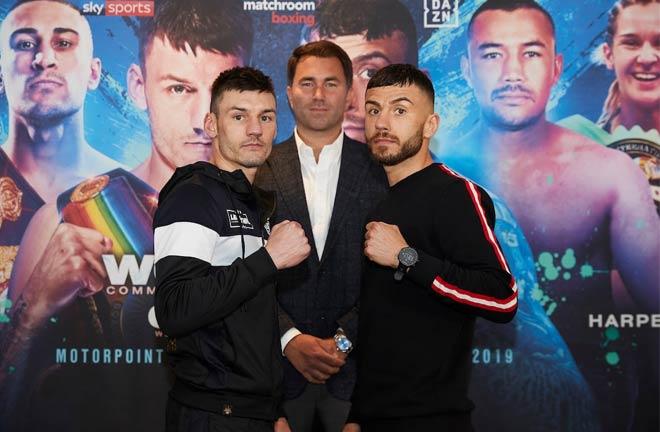 Nottingham JD NXTGEN press conference quotes. Credit: Matchroom Boxing