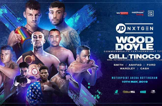 JD NXTGEN Nottingham - Preview & Predictions. Credit: Matchroom Boxing