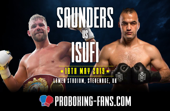 Saunders v Isufi - Big Fight Preview & Prediction.