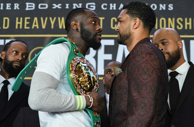 Wilder-Breazeale face off. Credit: Round By Round Boxing