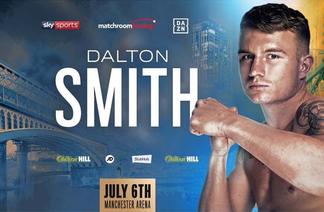 Dalton Smith added to July Manchester bill. Credit: Matchroom Boxing