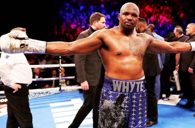 Whyte takes on Oscar Rivas on July 20. Credit: Sky Sports