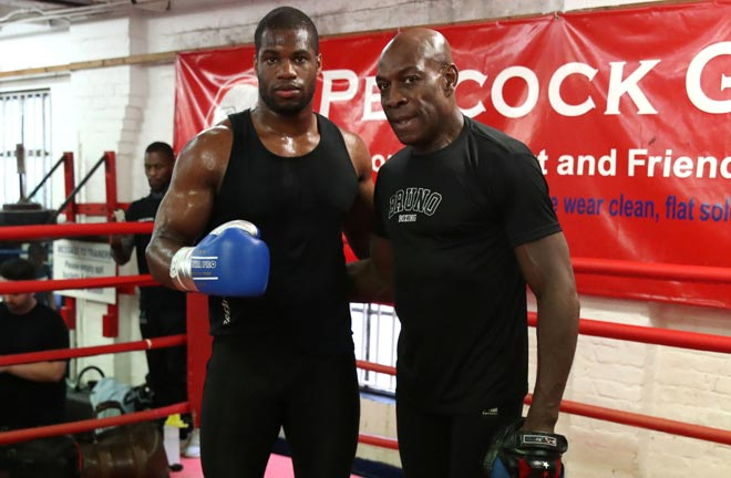 Frank Bruno: Daniel Dubois is the future of British Boxing. Credit: Frank Warren