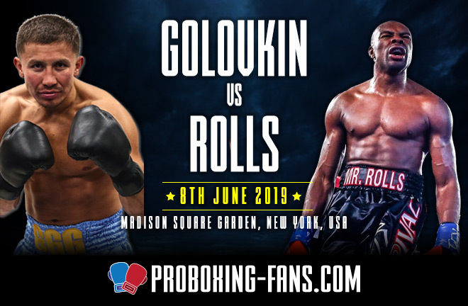 Golovkin vs. Rolls – Big Fight Preview & Prediction