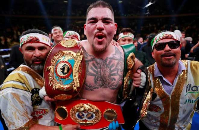 Andy Ruiz Jr. Photo Credit: Wall Street Journal