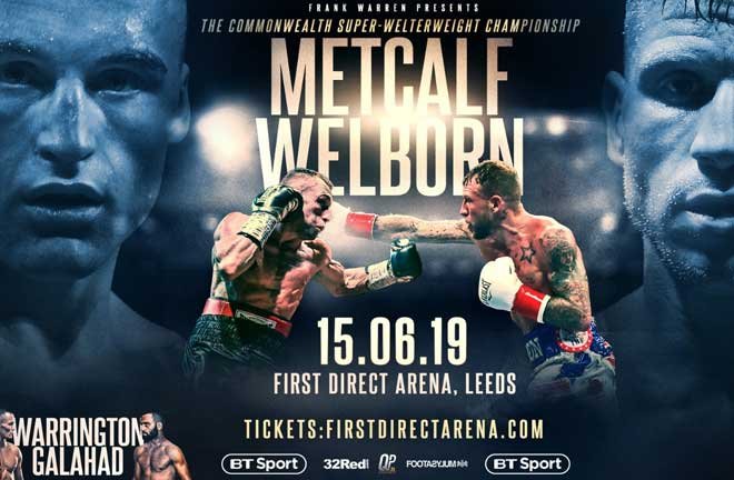 Welborn believes his fight against JJ Metcalf will steal the show on June 15. Credit: Frank Warren