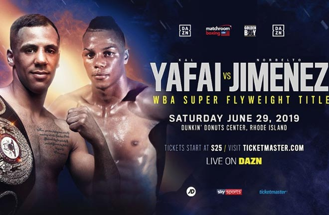 Yafai defends world crown against Jimenez. Credit: Matchroom Boxing