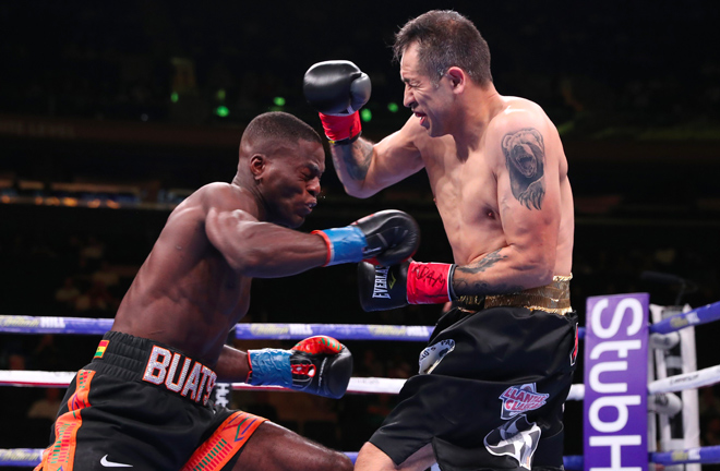 Joshua Buatsi continues to impress with his 9th KO.