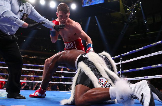 Callum Smith put in a impressive performance as he made his first appearance in the ring since that epic victory over George Groves.