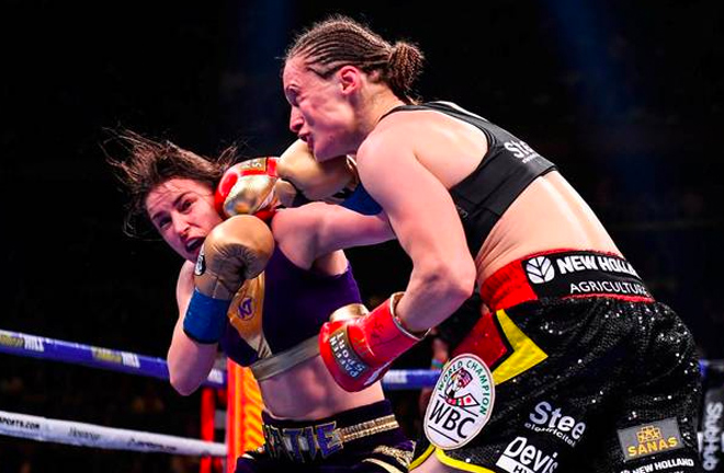 Katie Taylor became the Pride of Ireland on Saturday night by becoming the undisputed champion.