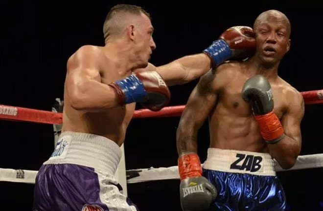 Seldin stopped Zab Judah in the 11th round. Credit: Fightnews.com