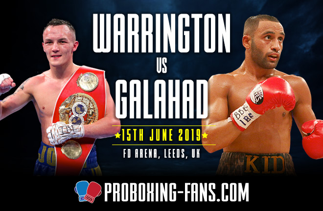 Warrington v Galahad big fight preview & prediction.