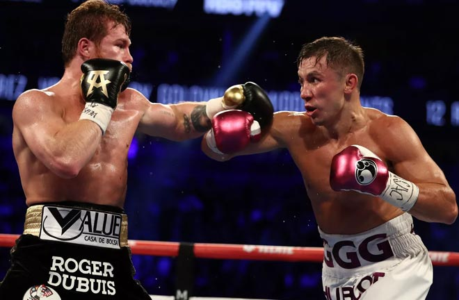 Canelo could be set for a trilogy with Gennady Golovkin Credit: Bad Left Hook