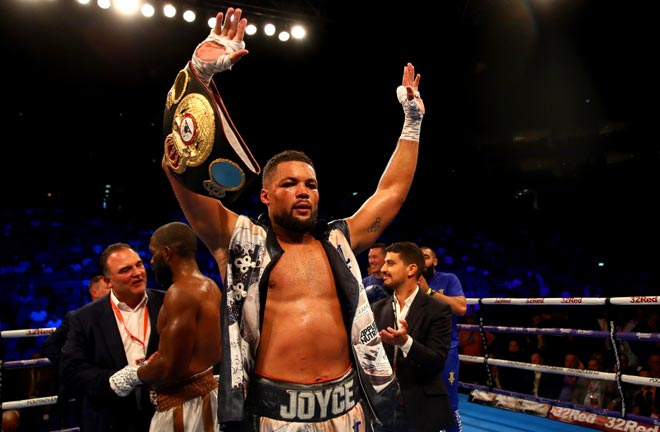 Joyce believes his experience will be the difference against his British rival Credit: talkSPORT