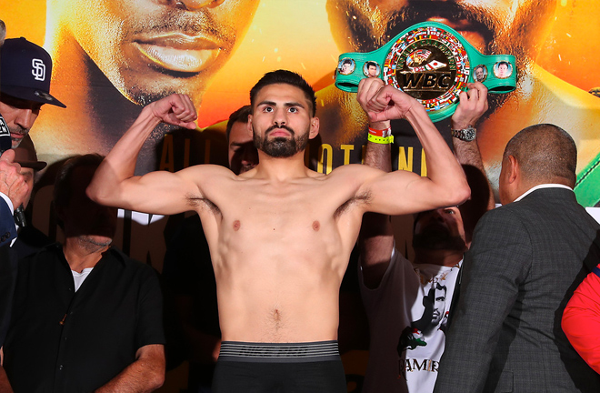 Jose Ramirez unified the remaining belts against Maurice Hooker in July Credit: Ed Mulholland/Matchroom Boxing USA