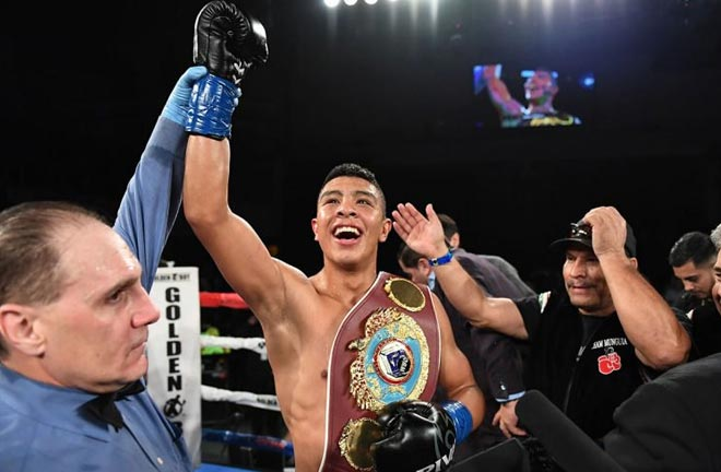 Jaimie Munguia could be the next Mexican great. Photo credit: The Ring