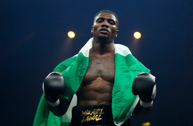 Michael Lawal is the winner of Ultimate Boxxer IV in Manchester.