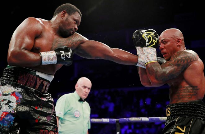 Rivas lost to Dillian Whyte on decision in July 2019 Credit: Fit World Sport