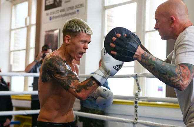 Charlie Edwards has signed with Frank Warren after leaving Matchroom Boxing. Photo Credit: Mark Robinson