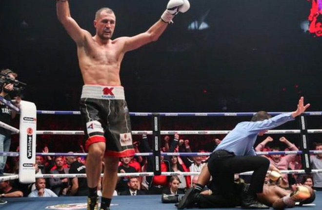 Sergey Kovalev wins with a 11th Round KO - Photo Credit: BBC Sport