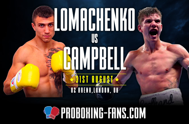 Lomachenko vs Campbell – Big Fight Preview & Prediction