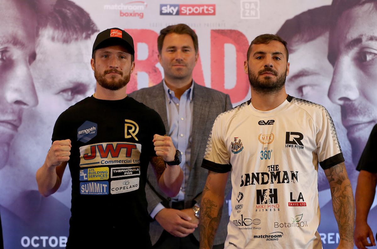 Robbie Davies JR and Lewis Ritson Final Press Conference
