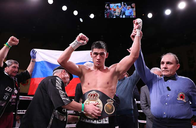 Bivol Defends World Title Against Castillo. Credit: Matchroom Boxing