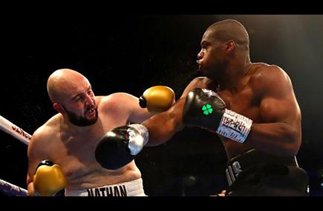 Daniel Dubois is back in action this Friday against Ebenezer Tetteh. Credit: BT Sport